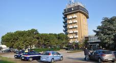 Il blitz di oggi all'ex hotel La Torre di Thiene