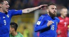Italia-Albania: le foto della partita