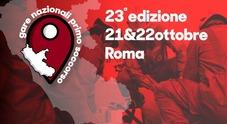 Roma, al via la gara di primo soccorso: i volontari della Croce Rossa in campo per salvare vite