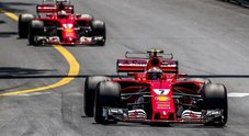 Gp di Montecarlo, la Ferrari trionfa con Vettel e Raikkonen