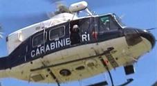 Blitz all'alba: cani ed elicottero a caccia dei trafficanti di droga