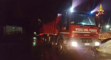 I vigili del fuoco di Belluno in aiuto  alle popolazioni colpite dal sisma