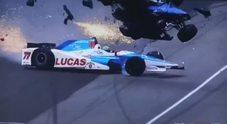Incidente choc a Indianapolis