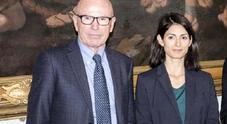 Massimo Colomban e Virginia Raggi