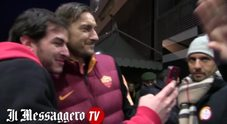 Totti: «I 25 anni con la Roma? Emozione bellissima»