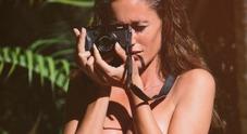 Gracia de Torres senza veli, scatta la foto e lo slip va giù...