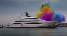 Varato il nuovo superyacht di Crn: ecco Cloud 9 spettacolo lungo 74 metri