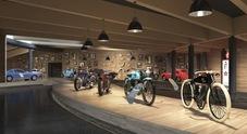 In Tirolo il museo più alto d'Europa con 170 moto d'epoca: è a quota 2175 mt
