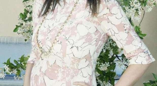 immagine Laura Pausini incinta, la foto su facebook