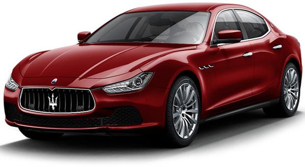 La Maserati Ghibli my 2017