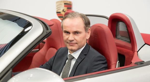 Oliver Blume, amministratore delegato di Porsche AG