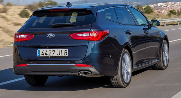 La Kia Optima Sportswagon