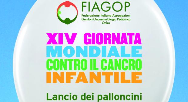 Diecimila palloncini per la Giornata mondiale contro il cancro infantile