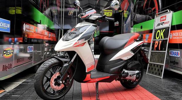 Lo scooter Aprilia SR 150
