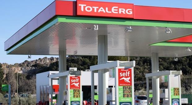 Un distributore TotalErg