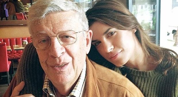 Morto il papà di Elisabetta Canalis: era andato a trovarla negli Usa