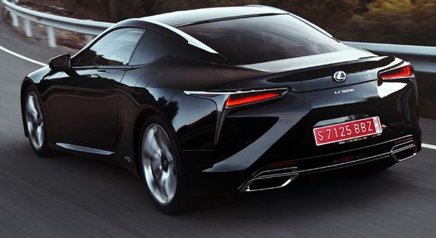la Lexus LC500h