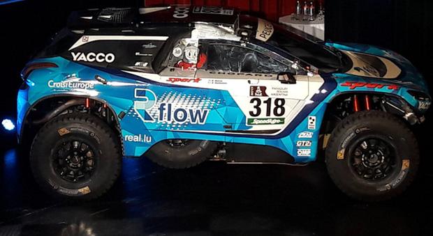 La Peugeot 3008 DKR con cui parteciperà alla Dakar 2017 Romain Dumas