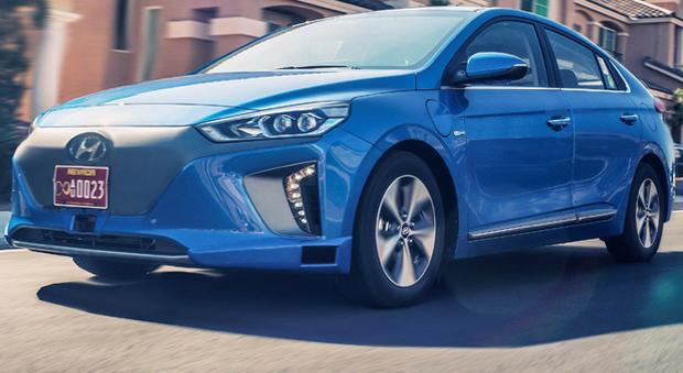 La Hyundai Ioniq a guida autonoma