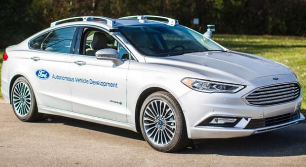 La Ford Mondeo a guida autonoma ancora più evoluta