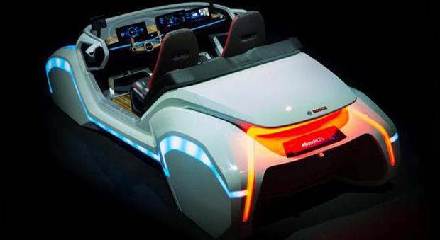 La concept car di Bosch che sarà al Ces 2017