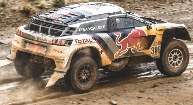 La Peugeot 3008 DKR di Loeb si è aggiudicata la difficile 5° tappa