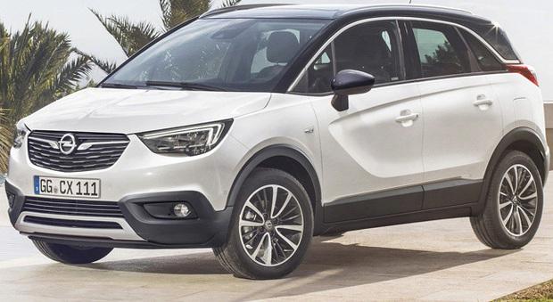 Il nuovo Opel Crossland X