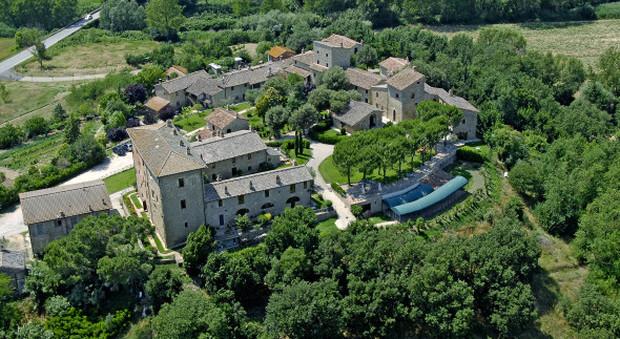 Il Castello Monticelli in Umbria