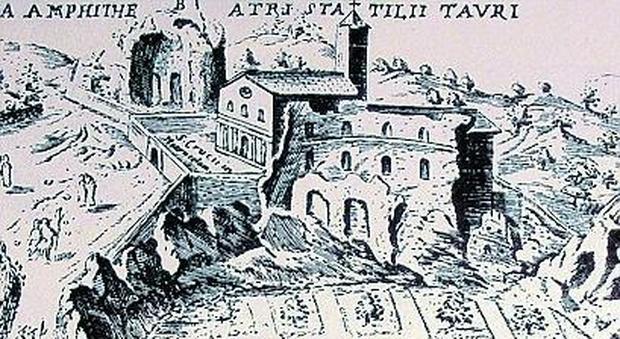 L'anfiteatro privato dell'imperatore