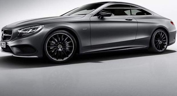 La Mercedes Classe S coupé Night Edition