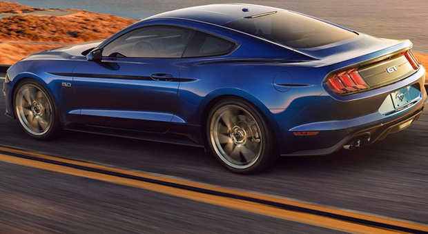 La nuova Ford Mustang