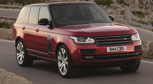 Il Range Rover attuale