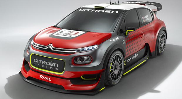 La nuuova Citroen C3 WRC Plus