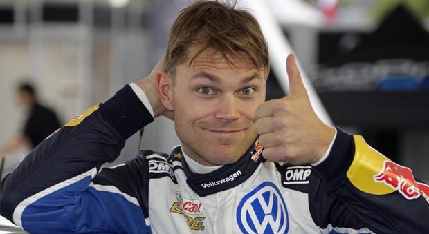 Il 28enne norvegese Andreas Mikkelsen in una foto dello scorso anno quando correva per la Volkswagen