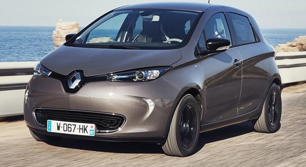 La Renault Zoe con autonomia raddoppiata