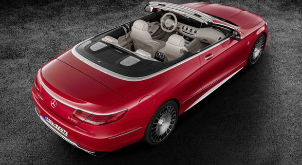 La Mercedes-Maybach S 650 Cabriolet