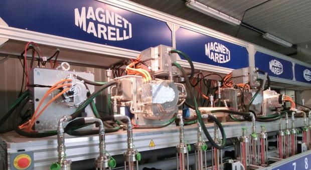 Test in un laboratorio Magneti Marelli