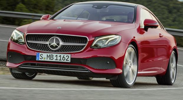 La Mercedes Classe E coupè