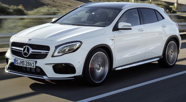 La rinnovata Mercedes GLA