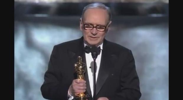 immagine Morricone vince l'Oscar nel 2008 - Video