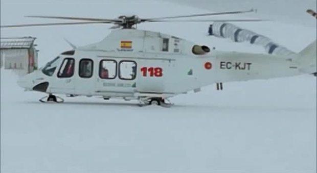 Prima Aereo O Elicottero : Esclusiva messaggero elicottero del caduto a campo