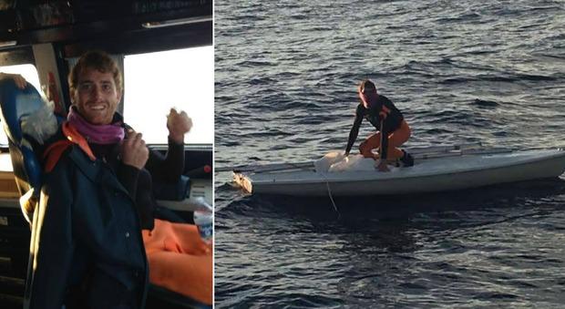 Velista ritrovato vivo dopo 20 ore disperso in mare