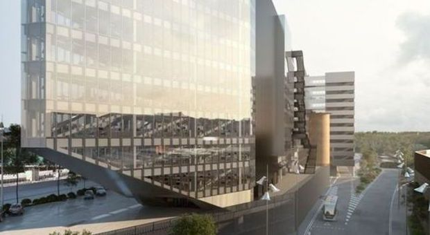 Bnl via alla costruzione della nuova sede vetro e for Finanziamento della costruzione di nuove case