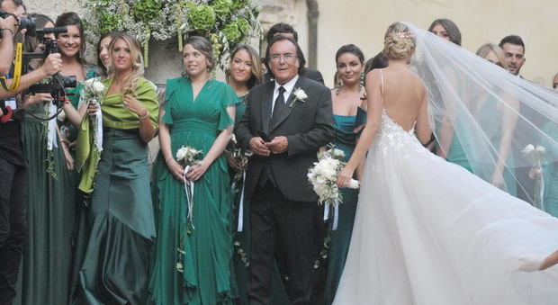 Al Baño Piazza Grande:Cristel Carrisi, nozze vip a Lecce per la figlia di Al Bano