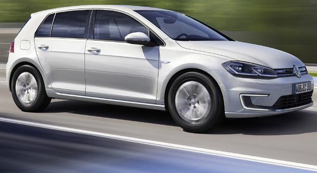 La nuova Volkswagen e-Golf