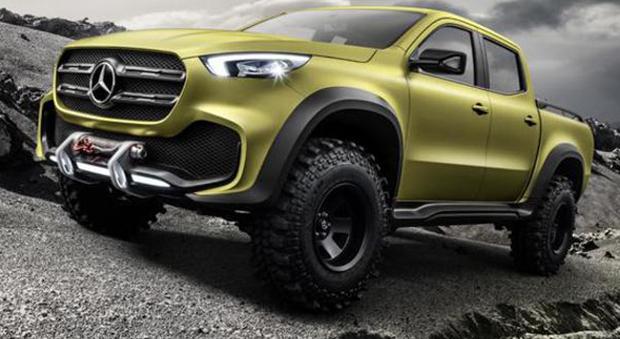 Ecco il primo pick-up di Mercedes, si chiama X-Class