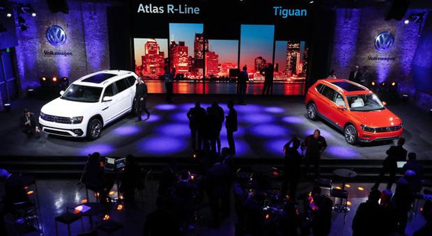 Una presentazione Volkswagen a Detroit