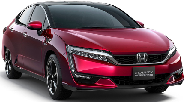 La Honda Clarity fuell cell