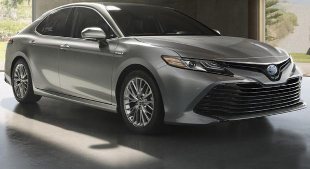 La nuova Toyota Camry