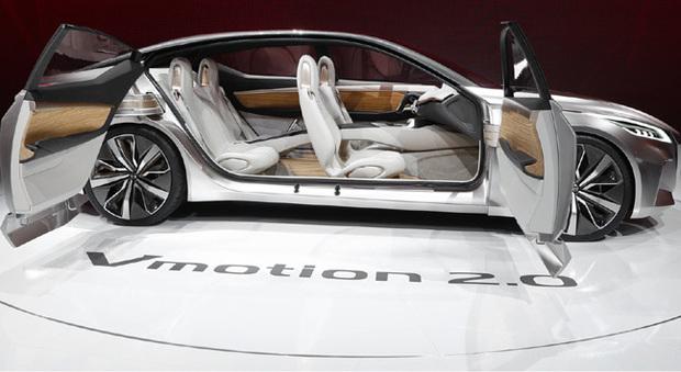 La Nissan Vmotion 2.0